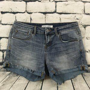 Melrose & Market Women's Jean Shorts Cutoff Cuff